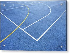 Sports Court Acrylic Print by Richard Newstead