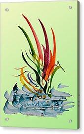 Lets Dance Acrylic Print by Mah FineArt