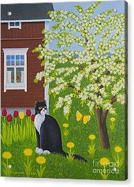 Spring Acrylic Print by Veikko Suikkanen