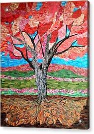 Springtime  Acrylic Print by Claudia French