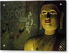 Sri Lanka, Dambulla, Dambulla Cave Acrylic Print