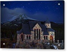 St. Malo Nights Acrylic Print by Darren  White