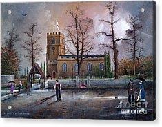 St Marys Church - Kingswinford Acrylic Print