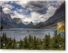 St. Mary's Lake Acrylic Print