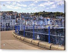 St Peter Port - Guernsey Acrylic Print by Joana Kruse
