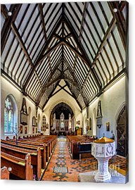 St Peters Acrylic Print by Adrian Evans