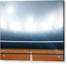 Stadium And Tennis Court Acrylic Print