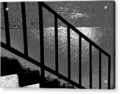 Stairs Acrylic Print by Lenore Senior