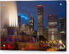Stanley Is Back Acrylic Print by Jeff Lewis