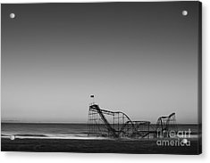 Star Jet Roller Coaster Hdr Acrylic Print by Michael Ver Sprill