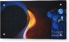 Star Ship Aquarius Acrylic Print