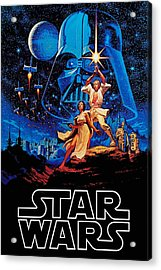 Star Wars Acrylic Print by Farhad Tamim