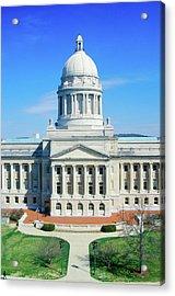 State Capitol Of Arkansas, Little Rock Acrylic Print