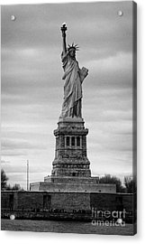 Statue Of Liberty Liberty Island New York City Acrylic Print