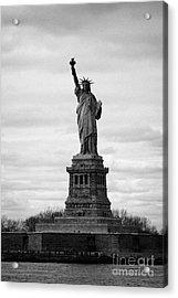 Statue Of Liberty Liberty Island New York City Usa Acrylic Print