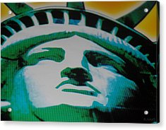 Statue Of Liberty  Acrylic Print by Rob Hans