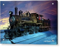 Steam Engine Nevada Northern Acrylic Print