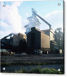 Steel Works Acrylic Print