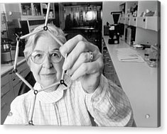 Stephanie Kwolek Acrylic Print by Hagley Museum And Archive