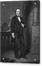 Stephen Douglas (1813-1861) Acrylic Print
