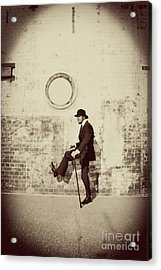 Stepping Into The Past Acrylic Print by Jorgo Photography - Wall Art Gallery