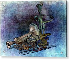 Sterling Silver Acrylic Print by Gunter Nezhoda