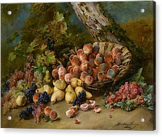 Still Life With Fruits Acrylic Print