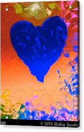 Still My Baby Blue Acrylic Print