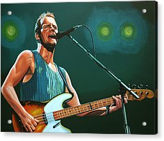 Sting Acrylic Print by Paul Meijering