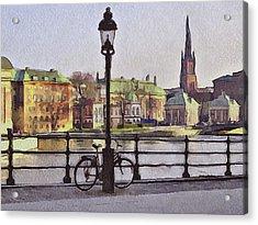 Stockholm 6 Acrylic Print by Yury Malkov