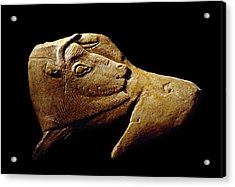 Stone Age Carving, Magdalenian Culture Acrylic Print