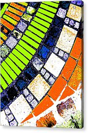 Acrylic Print featuring the photograph Stone by Nico Bielow
