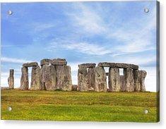 Stonehenge Acrylic Print by Joana Kruse
