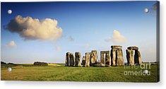 Stonehenge Summer Evening Acrylic Print