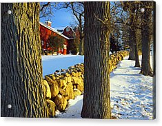 Stonewall Farm Acrylic Print by Bruce Thompson