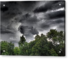 Storm Chasers  Acrylic Print by Tammy Cantrell