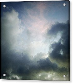 Storm Clouds Acrylic Print by Les Cunliffe