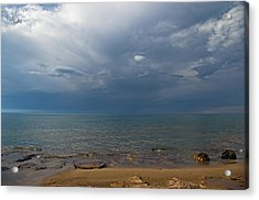 Storm Over Lake Superior Acrylic Print