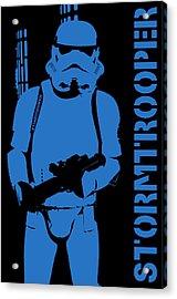 Stormtrooper Acrylic Print