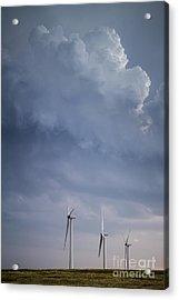 Stormy Skies Acrylic Print by Jim McCain