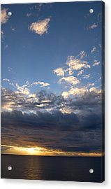 Acrylic Print featuring the photograph Stormy Sky by Bob Pardue