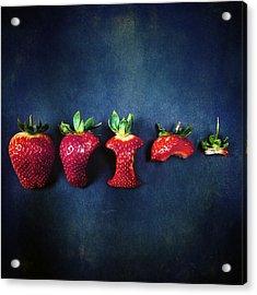 Strawberries Acrylic Print by Joana Kruse