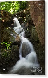 Streaming Acrylic Print by Rafael Quirindongo
