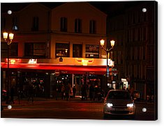 Street Scenes - Paris France - 011317 Acrylic Print by DC Photographer