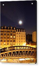 Street Scenes - Paris France - 011324 Acrylic Print by DC Photographer