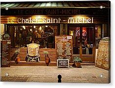 Street Scenes - Paris France - 011328 Acrylic Print by DC Photographer