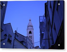 Street Scenes - Paris France - 01135 Acrylic Print by DC Photographer