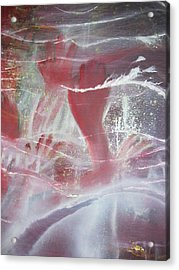 String Theory - Praise Acrylic Print by Carrie Maurer