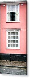 Suffolk Pink Acrylic Print