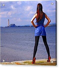 Summer Dress Acrylic Print